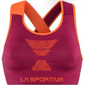 La Sportiva Focus - Sujetadores deportivos Mujer - naranja/violeta